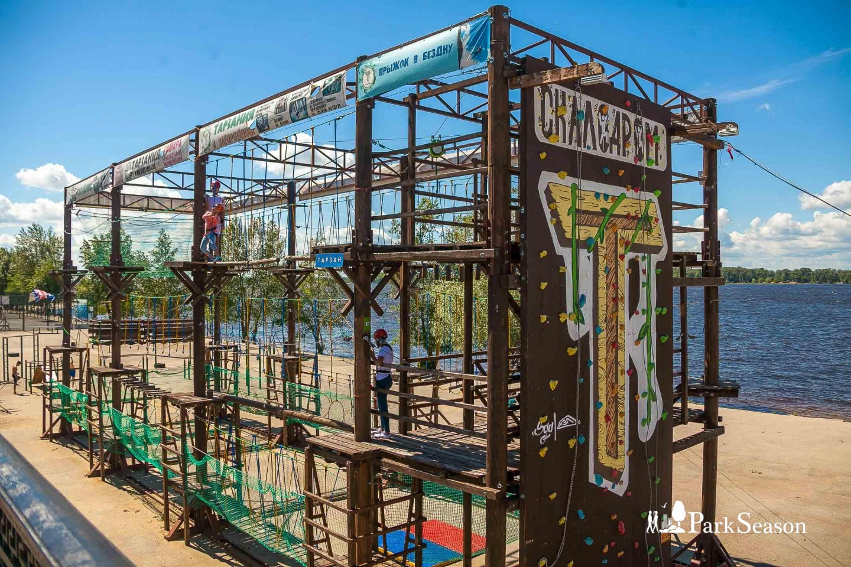 Веревочный парк «Тарзания» — ParkSeason