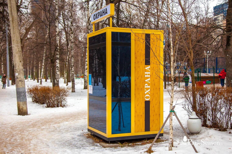 Пост охраны, Парк «Березовая роща», Москва — ParkSeason