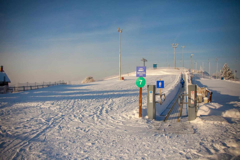 Учебный городок Склон №7 (временно закрыт) — ParkSeason