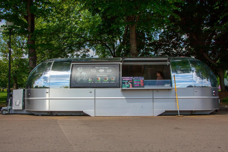 Фургон с бургерами (закрыт) — ParkSeason