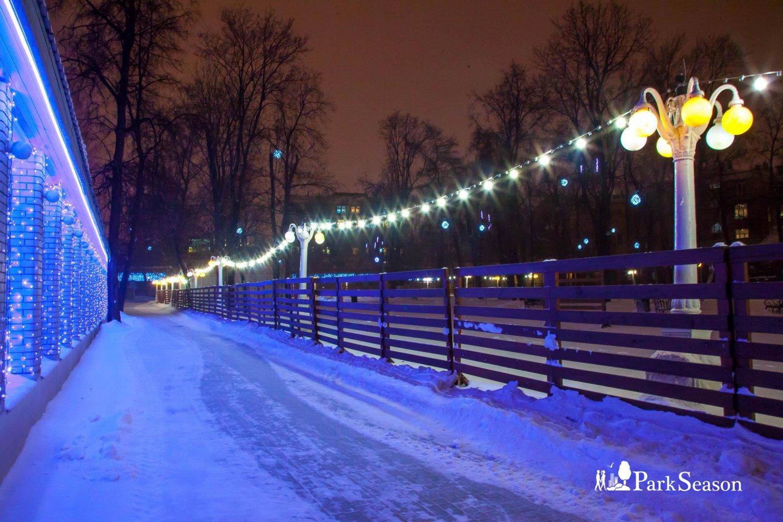 Натуральный каток в Саду «Эрмитаж», Сад «Эрмитаж», Москва — ParkSeason