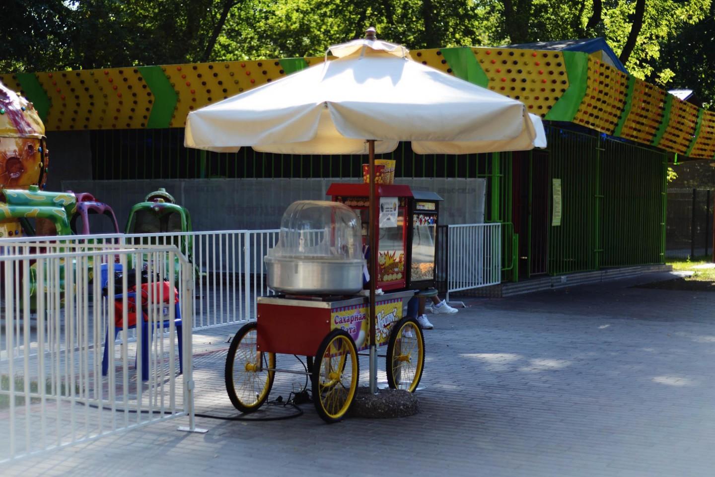 Сладкая сахарная вата, Парк «Перовский», Москва — ParkSeason
