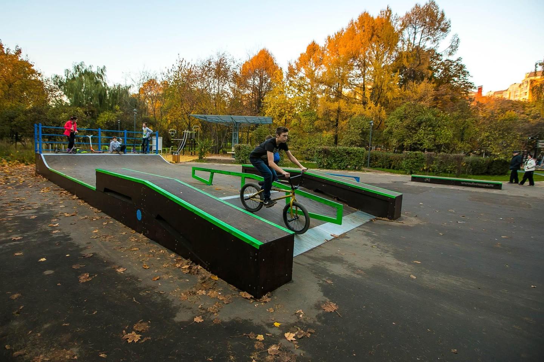Скейт-парк — ParkSeason