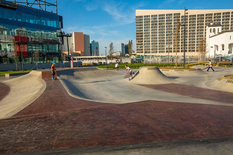 Скейт-парк, Ходынское поле, Москва — ParkSeason