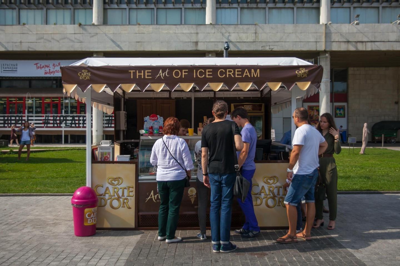 Мороженое Carte D'or, «Музеон», Москва — ParkSeason