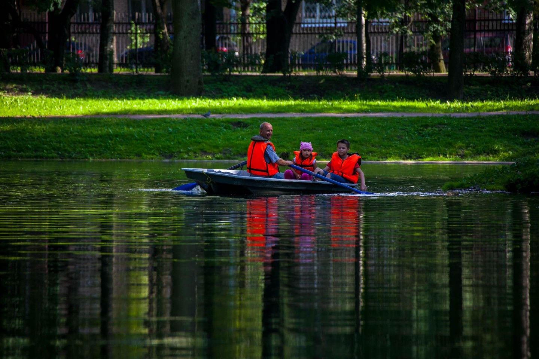 Пункт проката лодок и катамаранов — ParkSeason