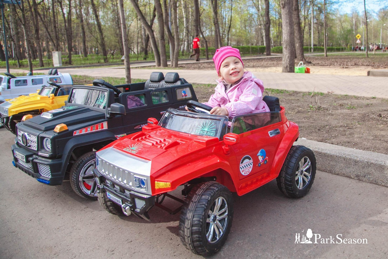 Детские электромобили, Парк «Сокольники», Москва — ParkSeason