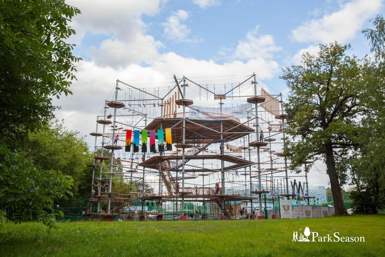 Высотный веревочный парк SkyTown, ВДНХ, Москва — ParkSeason