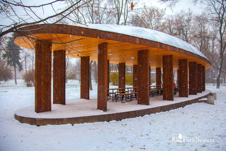 Шахматный павильон, Гончаровский парк, Москва — ParkSeason