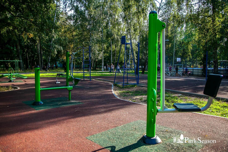Уличные тренажеры, Парк «Березовая роща», Москва — ParkSeason