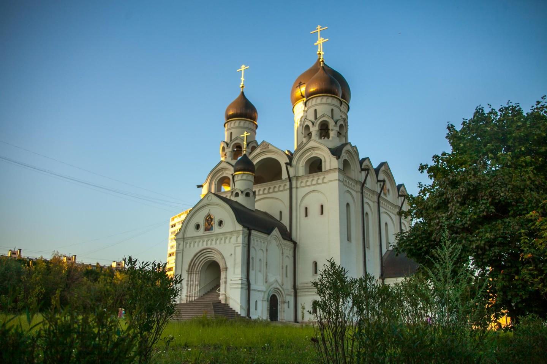 Храм во имя преп. Серафима Саровского — ParkSeason