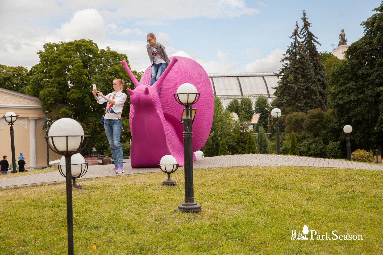 Арт-объект «Улитки», ВДНХ, Москва — ParkSeason