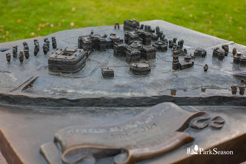 Макет дворцового ансамбля 1775 - 1785, Музей-заповедник «Царицыно», Москва — ParkSeason