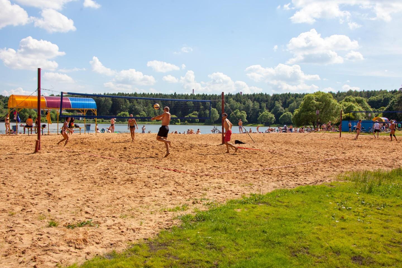 Пляжный волейбол, Парк «Мещерский», Москва — ParkSeason