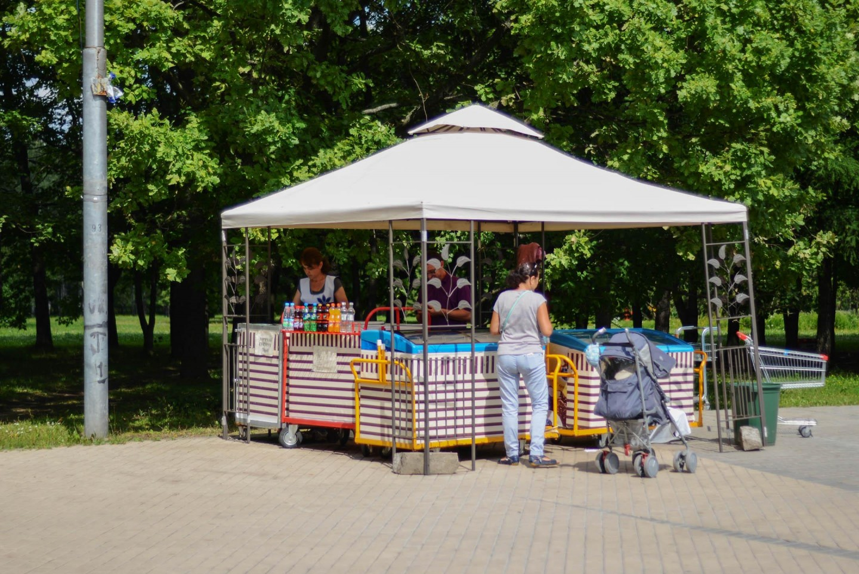 Мороженое, Парк 50-летия Октября, Москва — ParkSeason