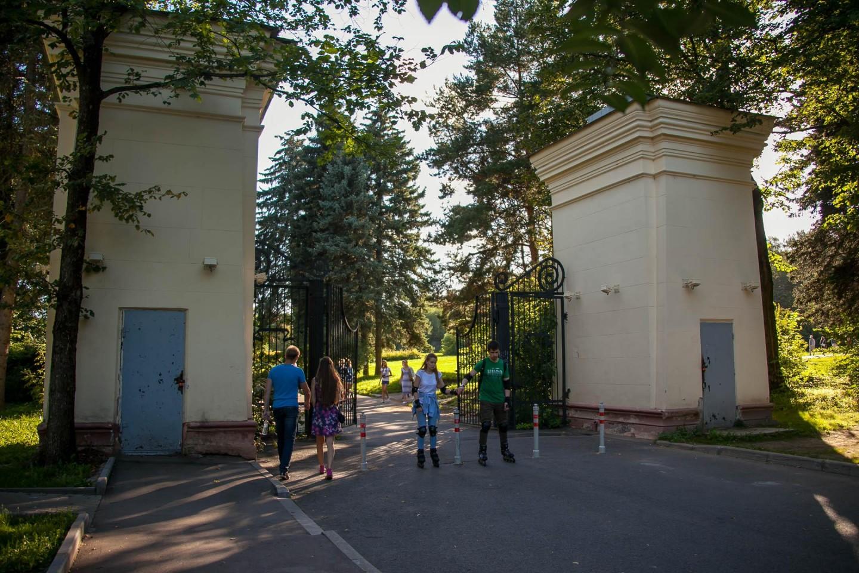Вход в парк со стороны ВДНХ — ParkSeason
