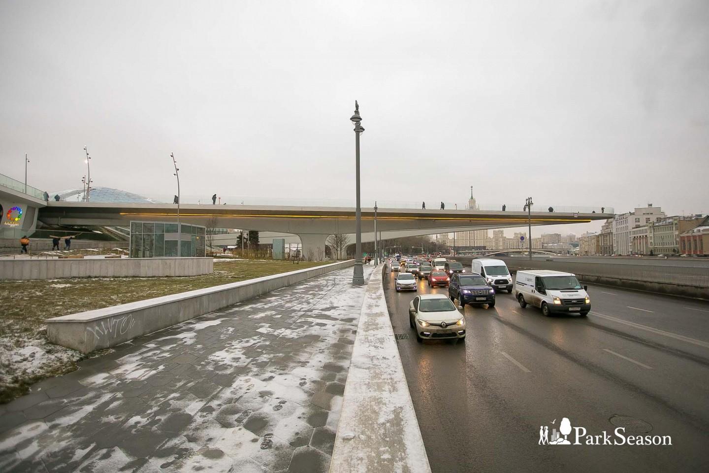 Парящий мост, Парк «Зарядье», Москва — ParkSeason