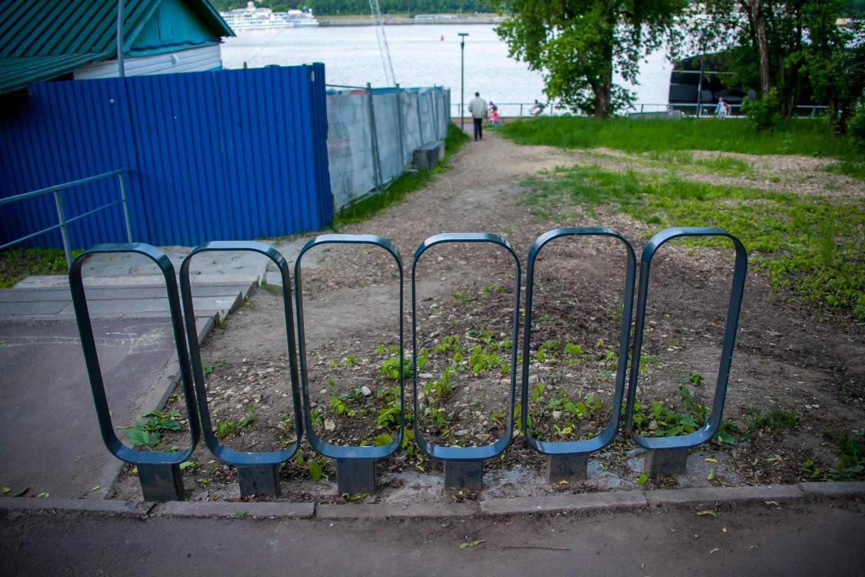 Велопарковка, Парк «Северное Тушино», Москва — ParkSeason