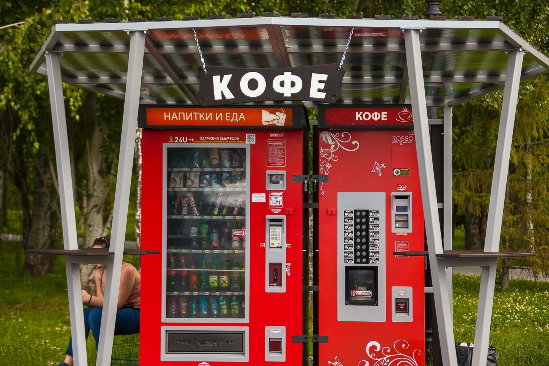 Автоматы с едой и напитками — ParkSeason