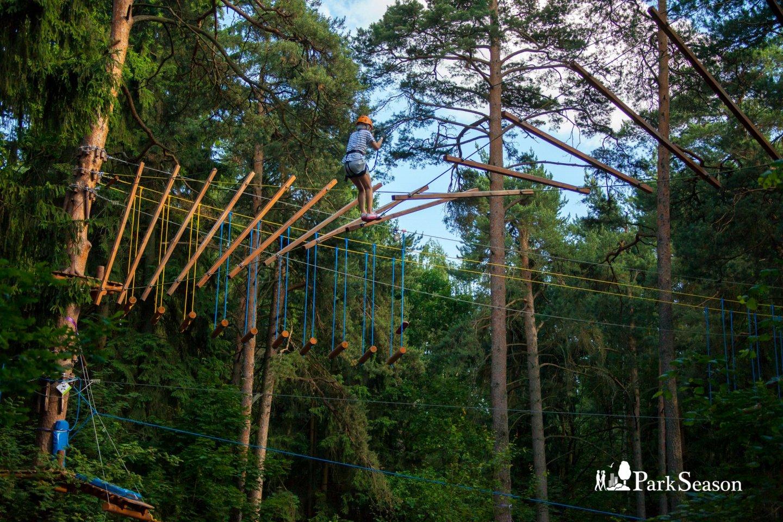 Веревочный парк «ПандаПарк» (Временно закрыт) — ParkSeason