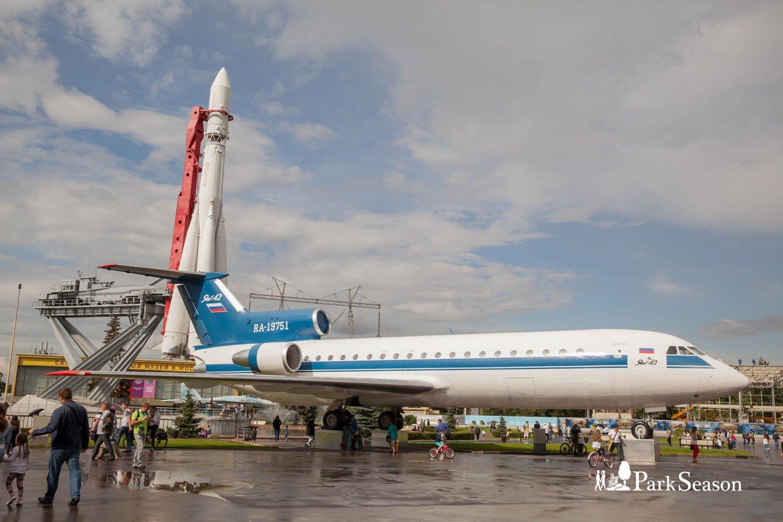 Макет ракеты «Восток», ВДНХ, Москва — ParkSeason