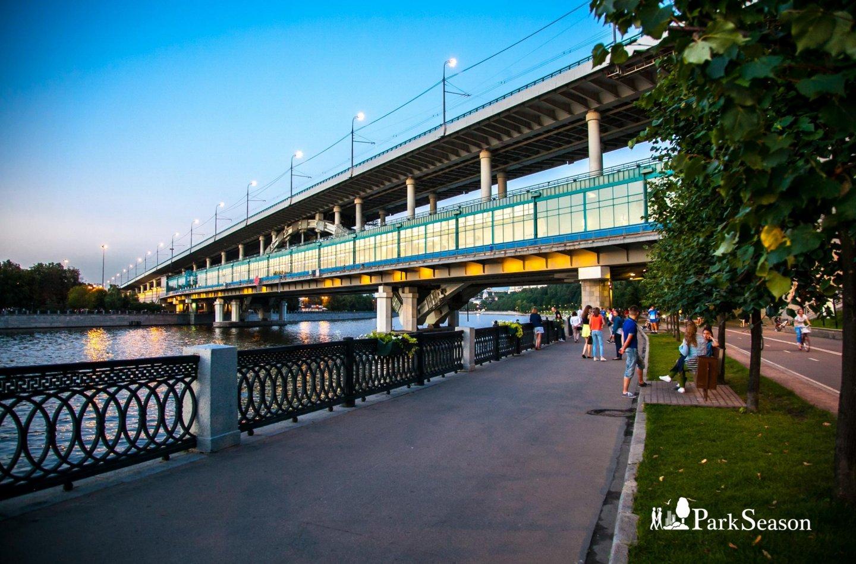 Лужнецкий метромост, Воробьевы горы, Москва — ParkSeason