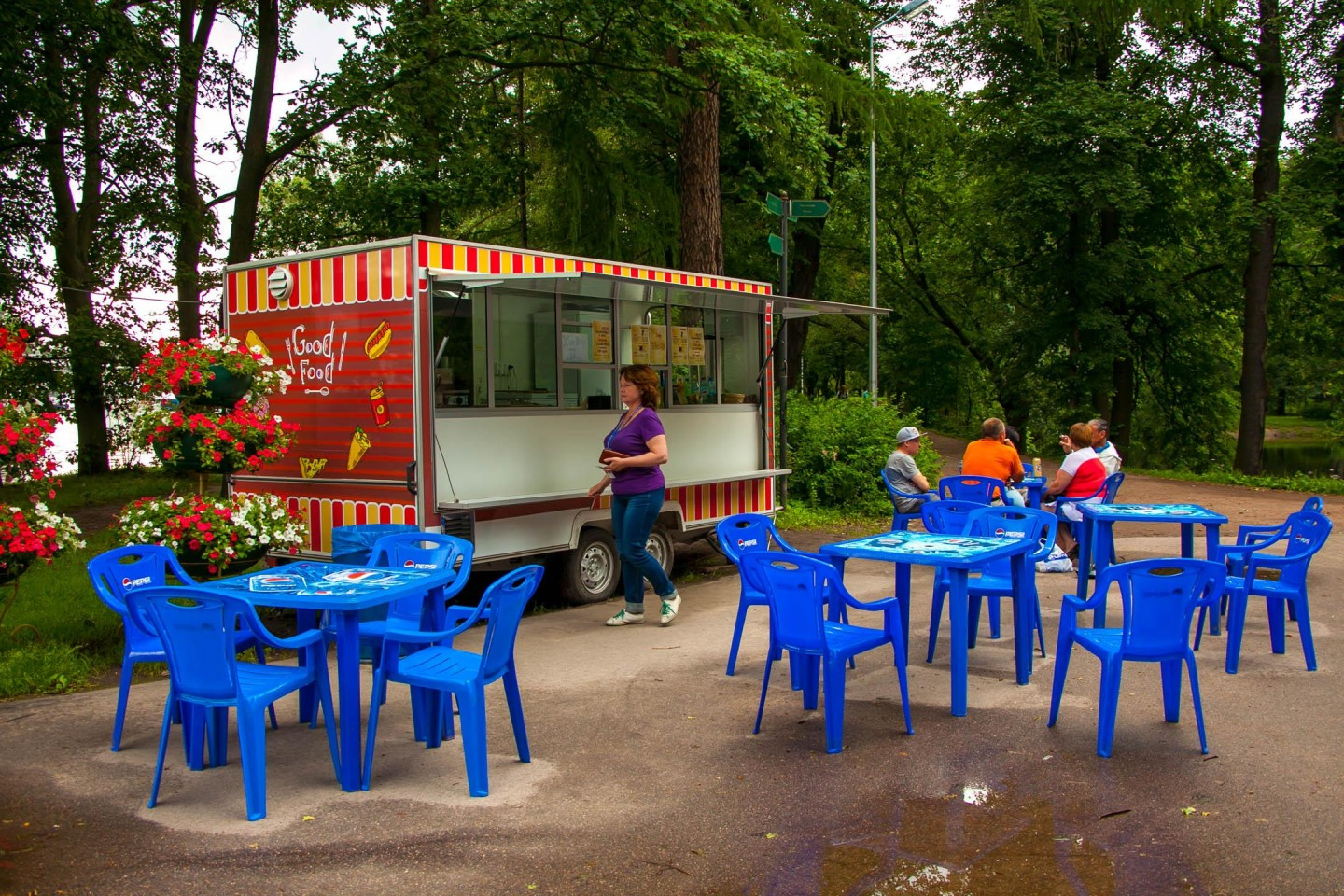 Киоск Good Food — ParkSeason