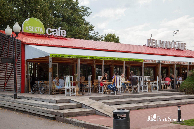 Кафе #Sektacafe, Парк Горького, Москва — ParkSeason