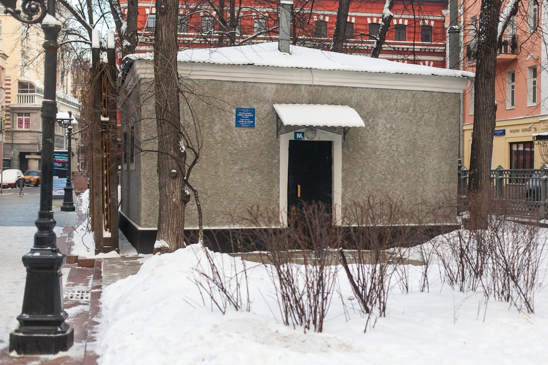 Туалет, Патриаршие пруды, Москва — ParkSeason