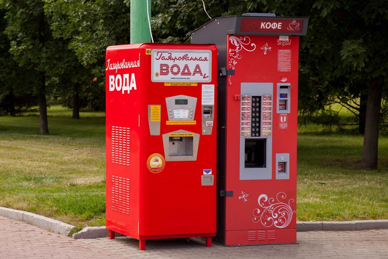 Автомат «Газированная вода» — ParkSeason