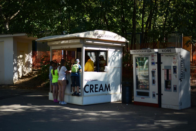 Мороженое, Нескучный сад, Москва — ParkSeason