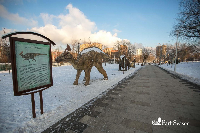 Скульптуры динозавров — ParkSeason