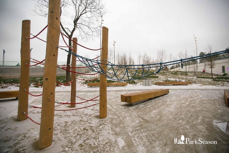 Детская площадка, Парк «Зарядье», Москва — ParkSeason