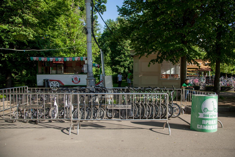 Пункт проката самокатов, Парк «Сокольники», Москва — ParkSeason