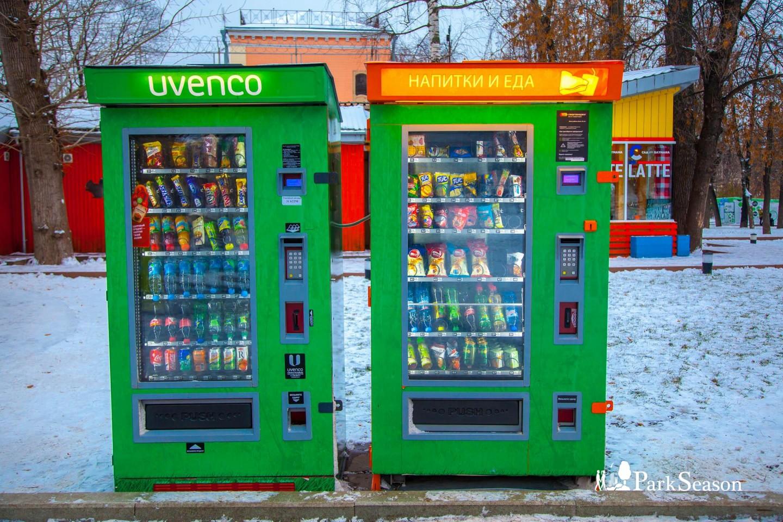 Автомат «Еда и Напитки», Сад им. Баумана, Москва — ParkSeason