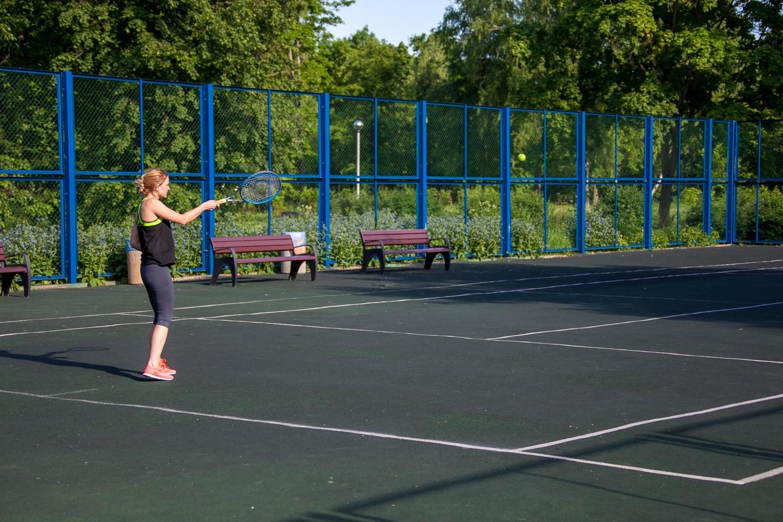 Теннисный корт, Парк «Северное Тушино», Москва — ParkSeason