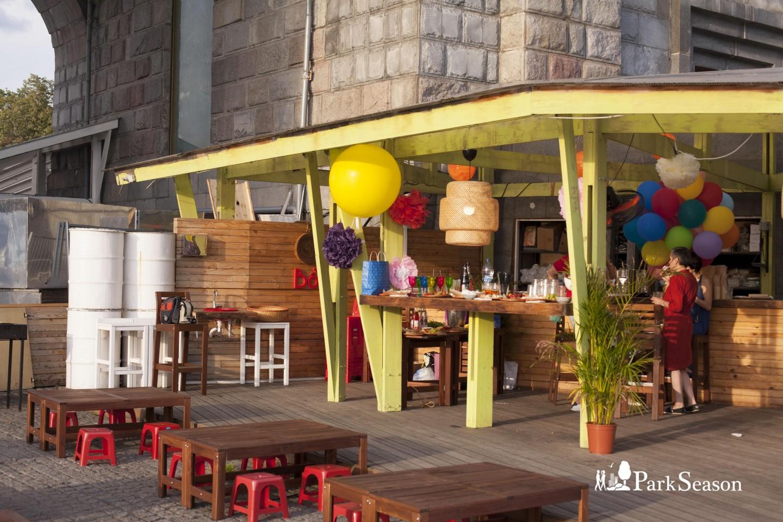 Кафе Bô, Нескучный сад, Москва — ParkSeason