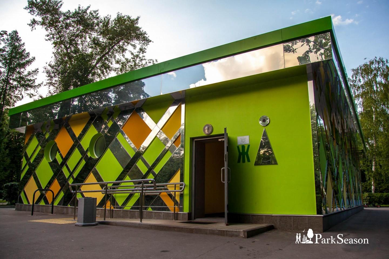 Круглосуточный туалет, Парк «Сокольники», Москва — ParkSeason