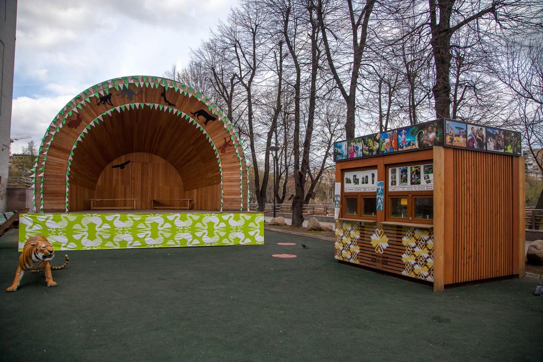 Сцена, Московский зоопарк, Москва — ParkSeason