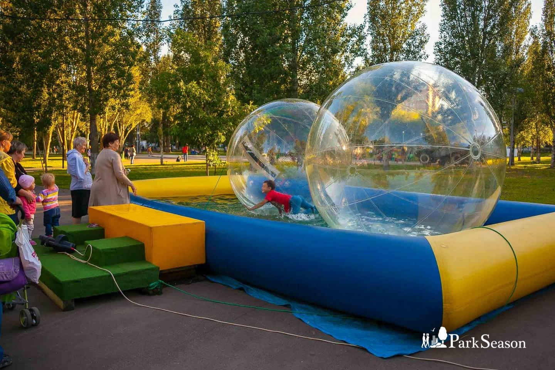 Водный зорб — ParkSeason