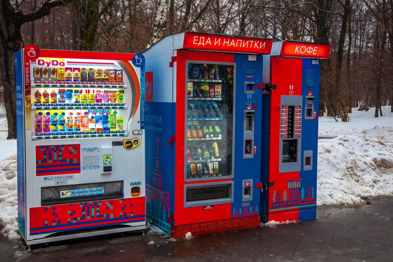 Автомат «Кофе» — ParkSeason