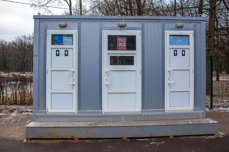 Туалет на катке — ParkSeason