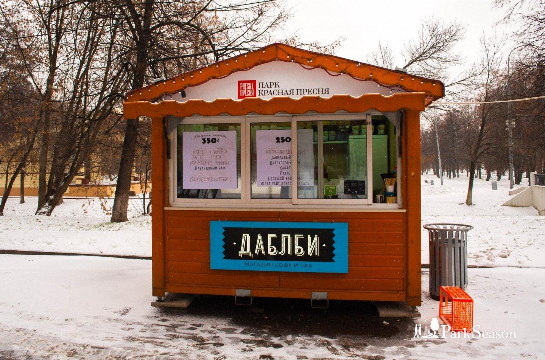Киоск «ДаблБи», Парк «Красная Пресня», Москва — ParkSeason