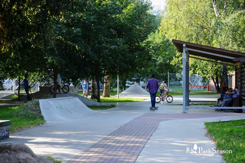 Скейт-парк «Ферма», Парк «Перовский», Москва — ParkSeason