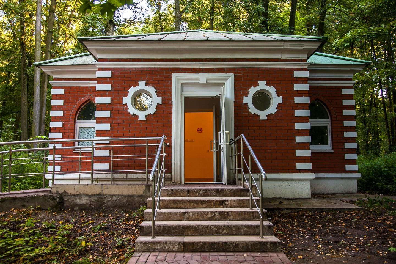 Туалет, Музей-заповедник «Царицыно», Москва — ParkSeason