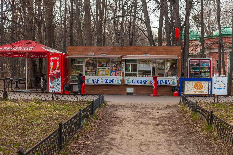 Уличное кафе, Парк «Кузьминки», Москва — ParkSeason