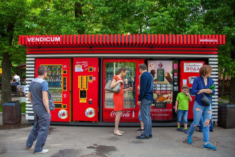 Автомат «Мороженое», ВДНХ, Москва — ParkSeason