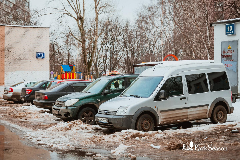 Парковка, Сиреневый сад, Москва — ParkSeason