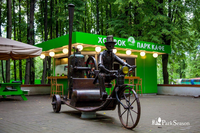 Скульптура «Паровая машина», Парк «Бабушкинский», Москва — ParkSeason