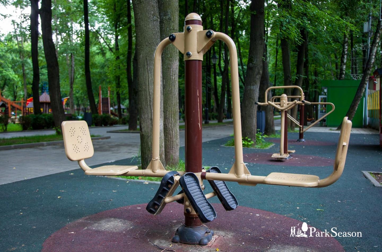 Уличные тренажеры, Парк «Бабушкинский», Москва — ParkSeason